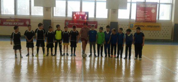 Первый старт юных футболистов