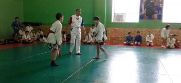 Соревнования по борьбе самбо