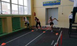 Первые старты юных легкоатлетов